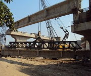 Construction of Railway Over Bridge (ROB) in lieu LC No. 3C on Surat – Bhusaval main line and Bhestan – Bhusaval loop line joining Dindoli and Godadara area on 45 m wide T.P. / D. P. road at Surat.