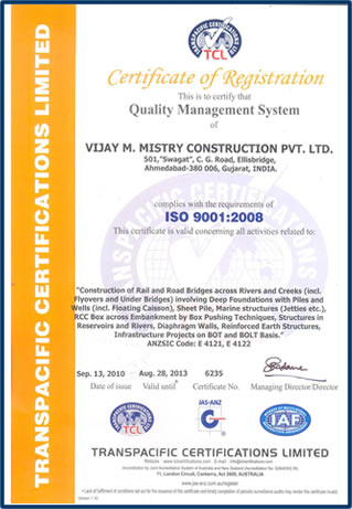 ISO 9001 : 2000 Certified Company