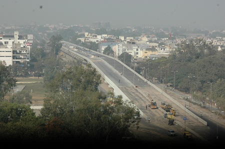 Construction of Elevated road on NH-12, Kota.