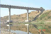 Construction of High Level Bridge across river Tapi Burhanpur, M. P.