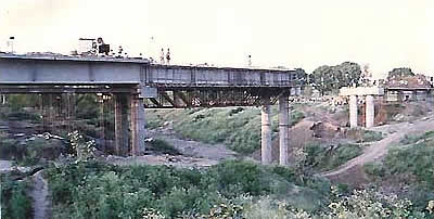 Design and construction of high level Bridge across Gambhir river in km. 8/6 of Rao Pitham pur Road, near. Indore, M.P.