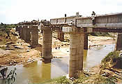 Design and construction of New BG Railway Bridge on river SIRI near Nadiad
