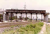 Construction of Road Over Bridge near Sabarmati Railway Station