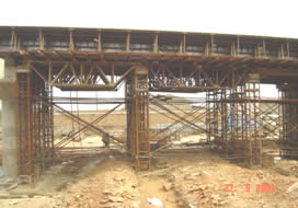 Design and Construction of ROB on DCM Railway Crossing at Kota, Rajasthan.