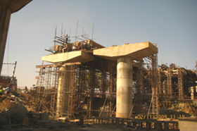 Casting of superstructure
