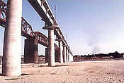 Design & Construction of New BG Railway Bridge across MAHI RIVER at Vasad.