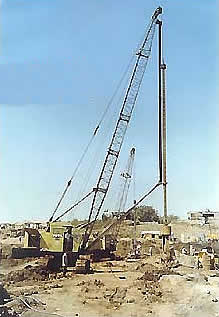 Construction of Diaphragm wall for Causeway cum weir Project across RIVER TAPTI near SURAT.