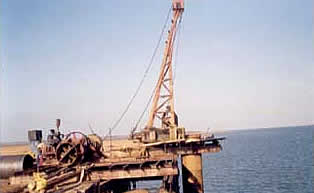 Strengthening of the existing fisheries jetty for Salt Export at Jakhau, Kutch